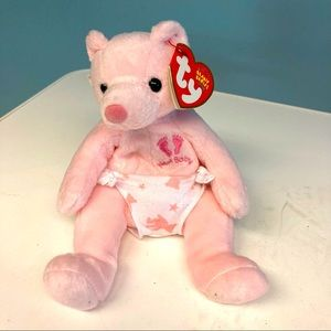 """BEANIE BABY It's a Girl Plush Approx 7"""" New w/ Tag"""